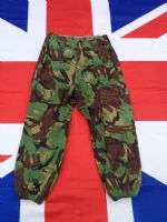 "BRITISH GREEN CAMO CADET TROUSERS ""SMALL"""